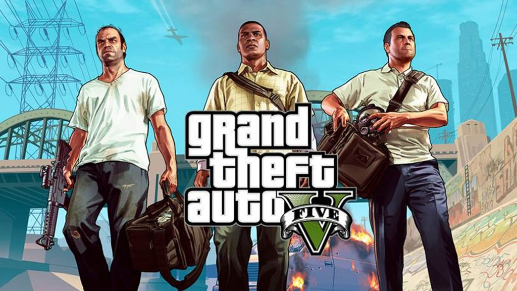 GTA V brings you three new protagonists to the Los Santos area. (Press photo)