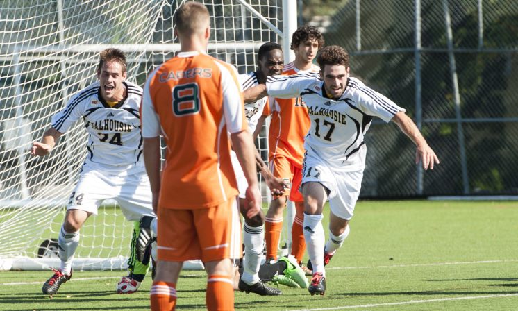 Offence is focus for men's soccer