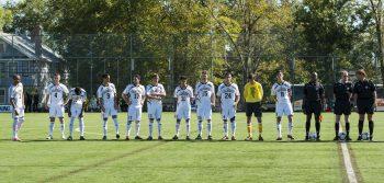 Men's soccer start season undefeated