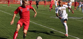 Men's soccer split weekly matches