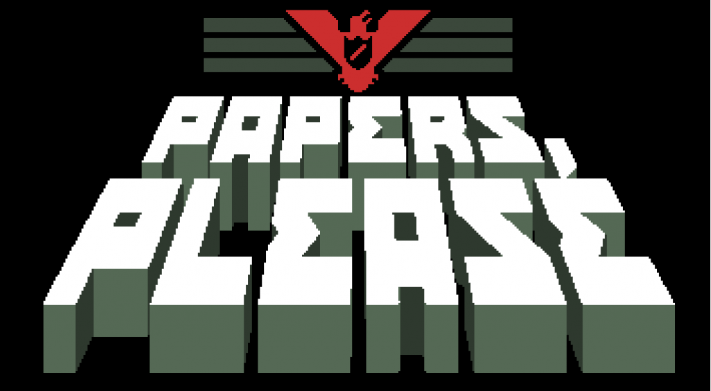 Papers Please title screen