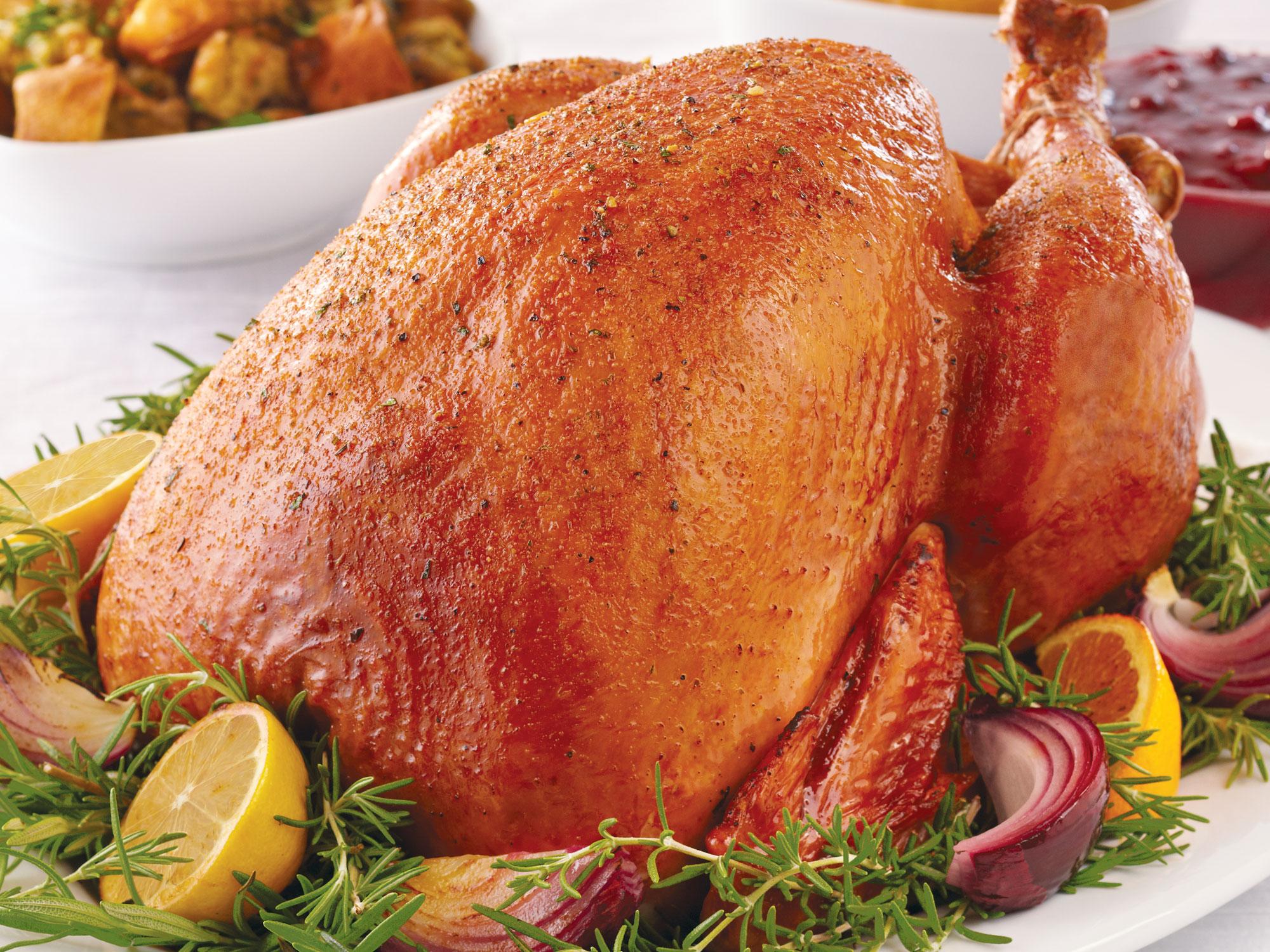 Turkey's aren't exclusively around Thanksgiving.