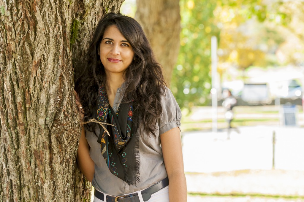Alia Karim shares her experience of anxiety in final year (photo by Chris Parent)