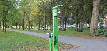 DSU rolls out new bike repair stands