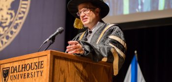 Dalhousie installs its 11th president