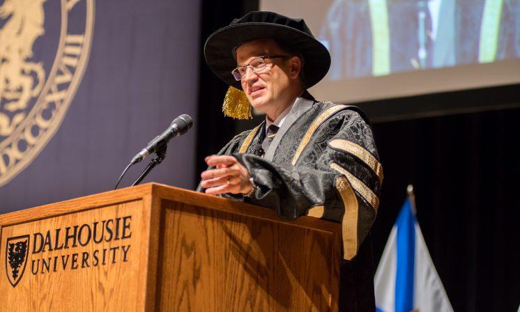Dalhousie installs its 11th president