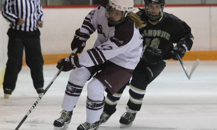 Women's hockey opens season with resilient display