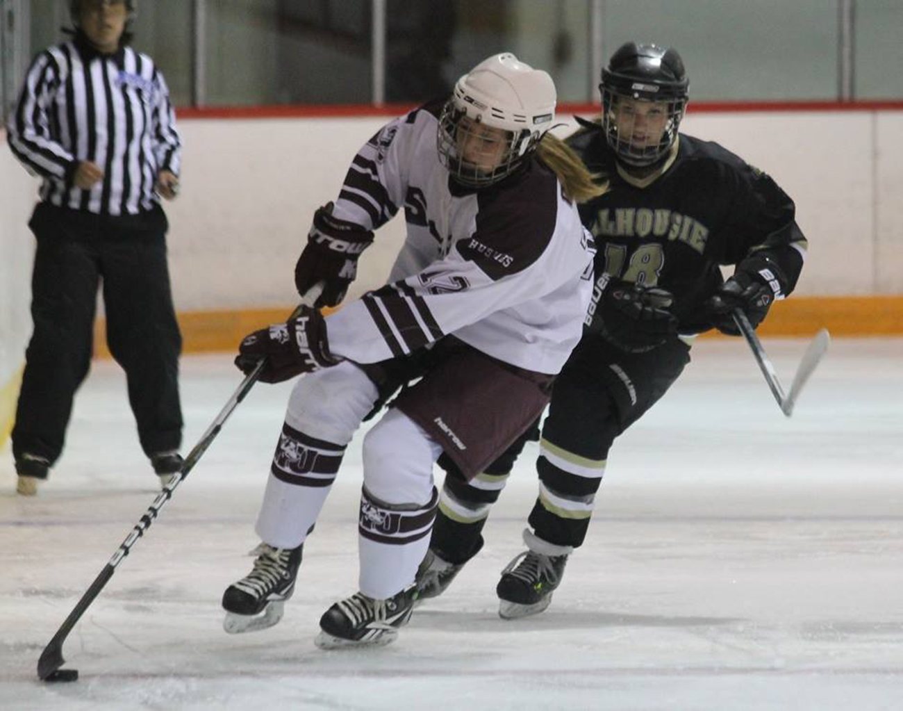 Tigers women's hockey is back on the ice (photo by Richard Lafortune)