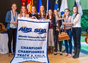 The women's team hopes for more hardware at nationals (Photo by Chris Parent)