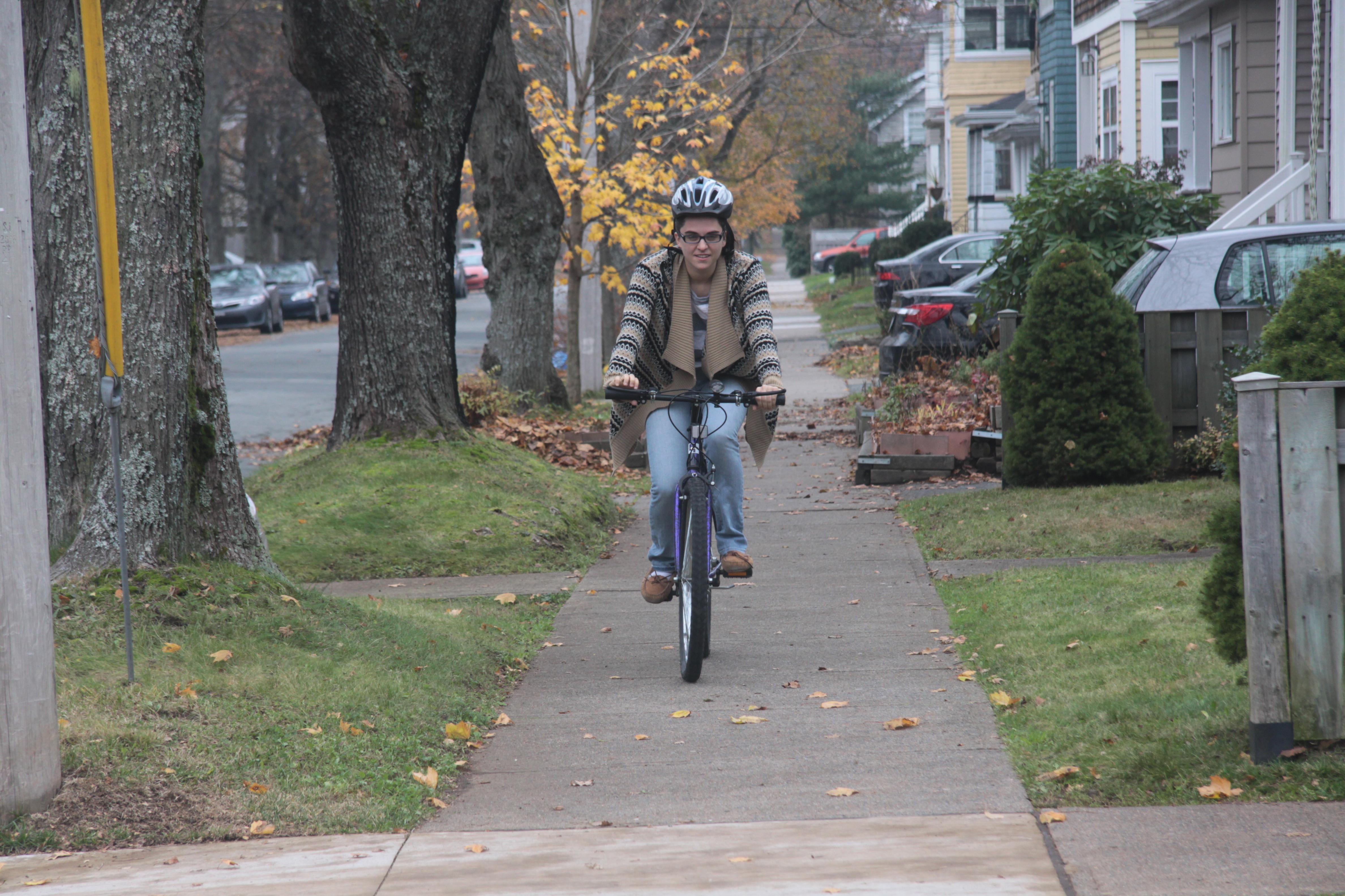 In Dal's plans, University Avenue would be pedestrian friendly (Adele Van Wyk)