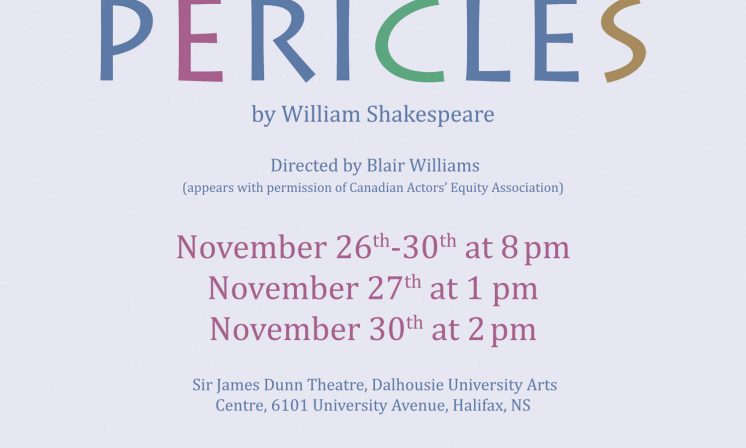 Putting on Pericles