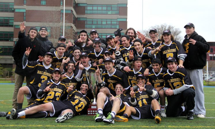 Dalhousie earns third consecutive lacrosse title