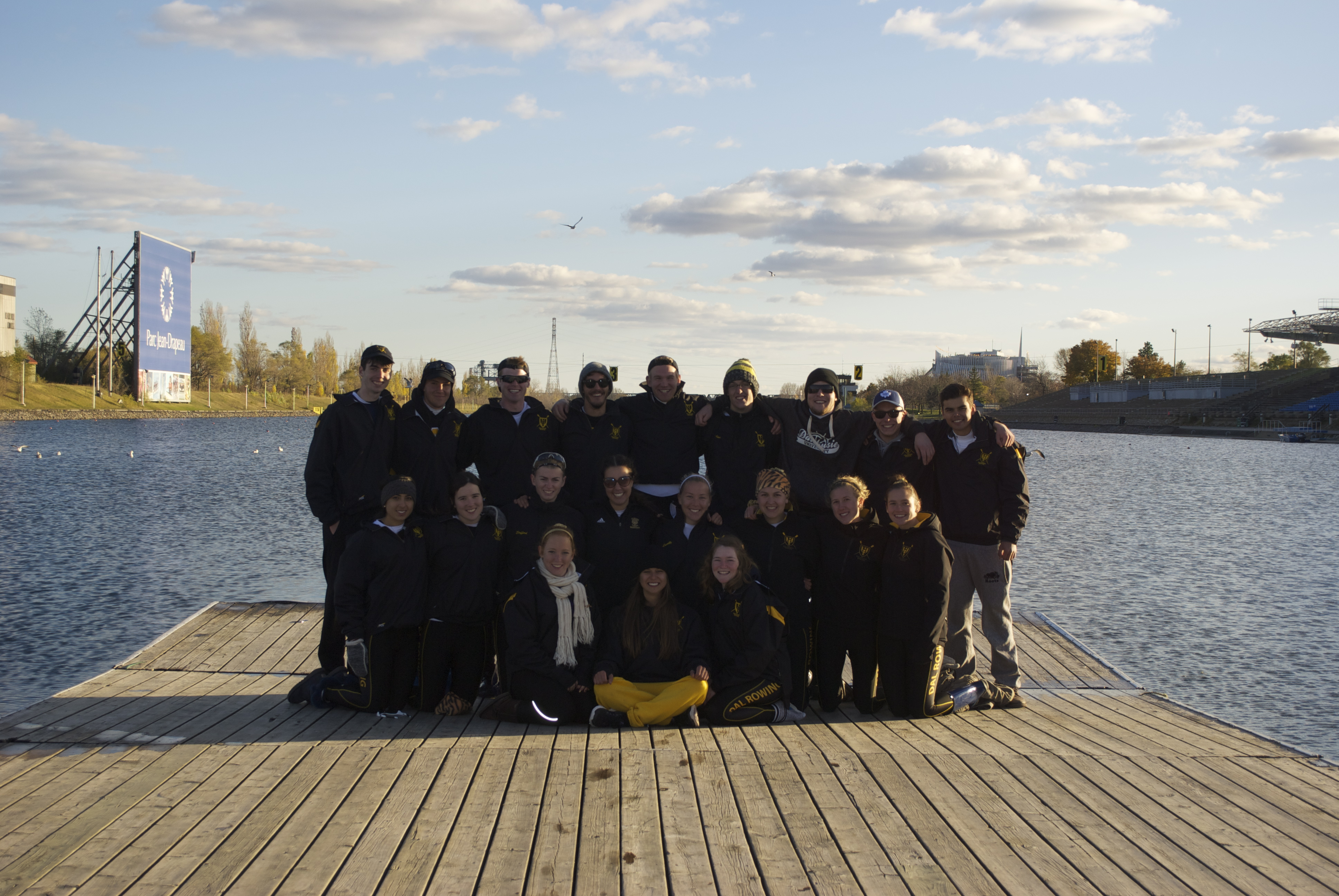 The Dal rowing club put up a strong showing at Nationals (Photo supplied by Rowing Club)