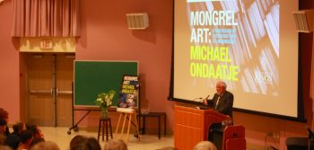 Ondaatje speaks at annual lecture