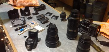 Stolen photo equipment from Gazette office anonymously returned