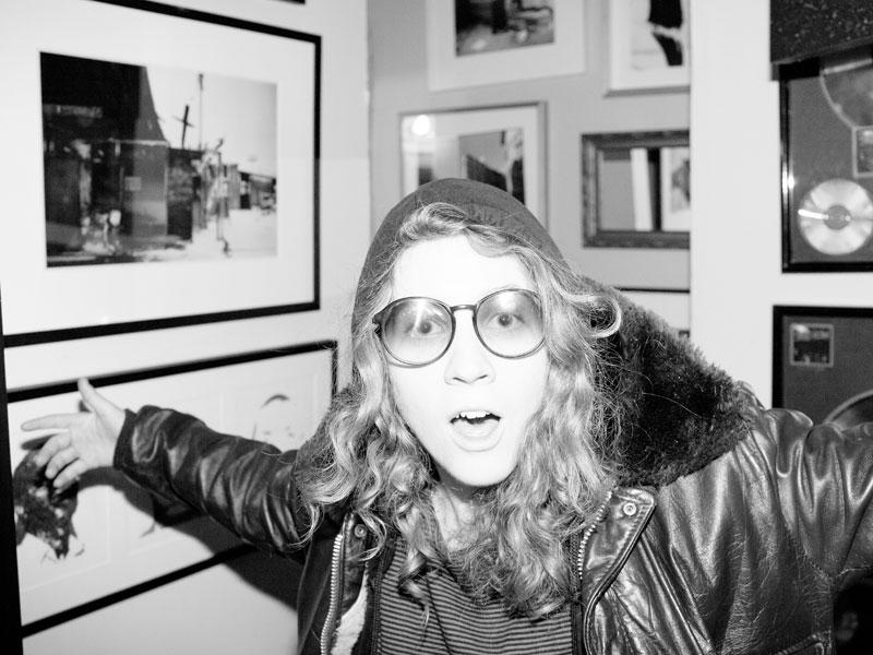 """Simone Schmidt, forever young."" (Press photo)"