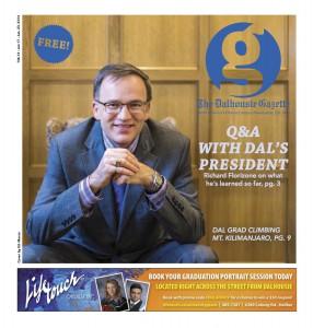 Dalhousie Gazette cover for Jan. 17.