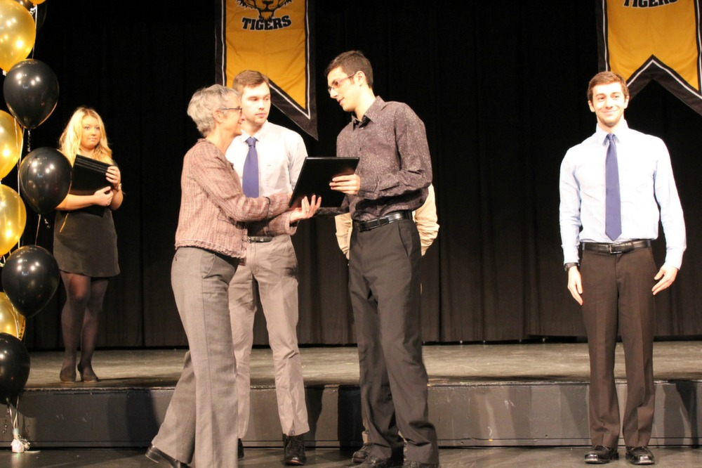 Dal Athletics rewarded its high achievers on Jan. 23. (Photo by Jasspreet Sahib)