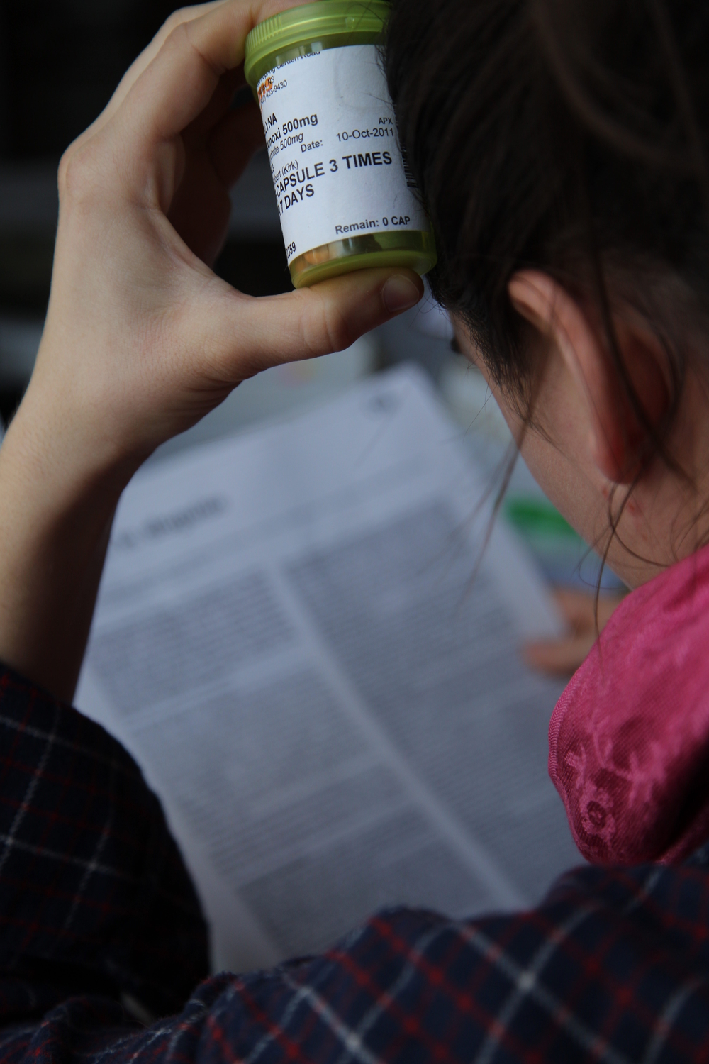 Precription drugs are changing hands at Canadian universities. (Photo by Adele van Wyk.)