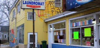 New owner deflects criticism of run-down laundromat