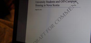 StudentsNS report wants better student housing standards