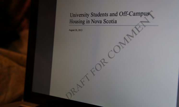 StudentsNS report wants better student housing standards