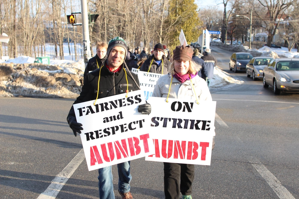 UNB faculty members are requesting upwards of a 20 per cent pay hike. (Photo by Karsten Saunders via The Brunswickan)