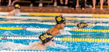 Strong finish to undefeated swim season