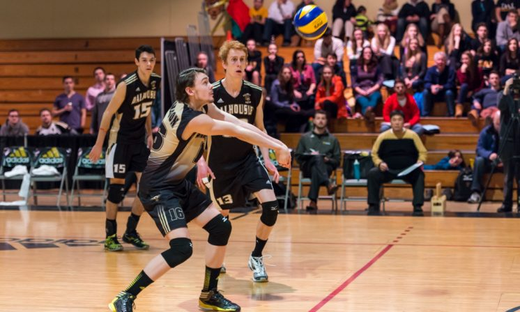 Early championship edge for men's volleyball