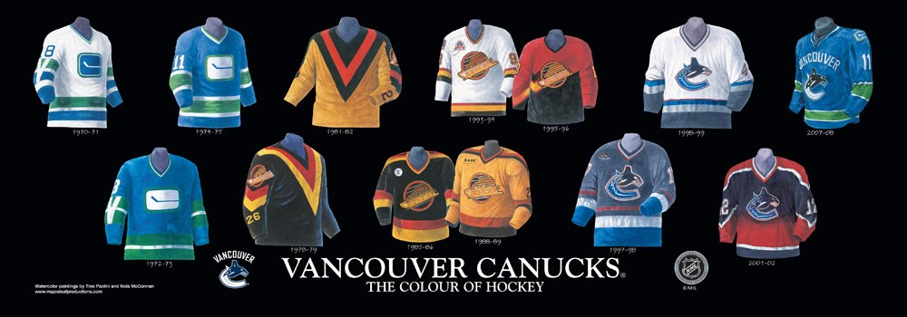 3. The sartorial history of the vancouver canucks