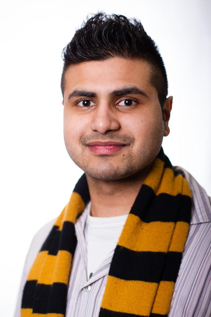 DSU president candidate Ramz Aziz. (Photo by Bryn Karcha, DSU)
