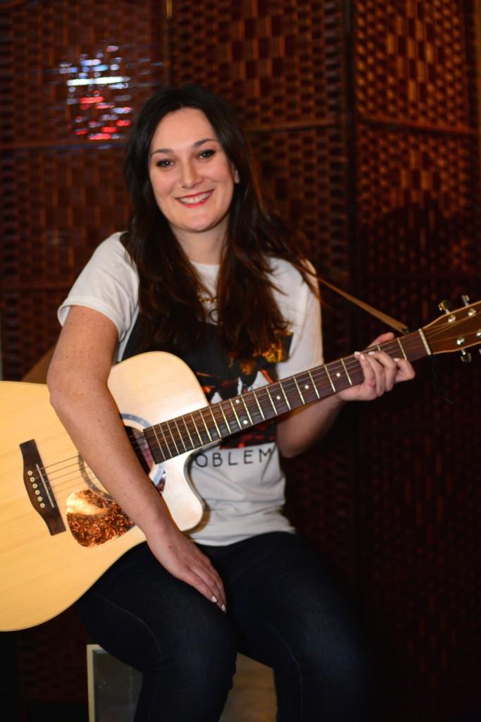 Singer-songwriter Ellie Goldney. (Photo by Kit Moran)