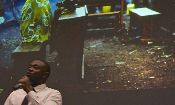 Former refugee and child soldier speaks at Dal