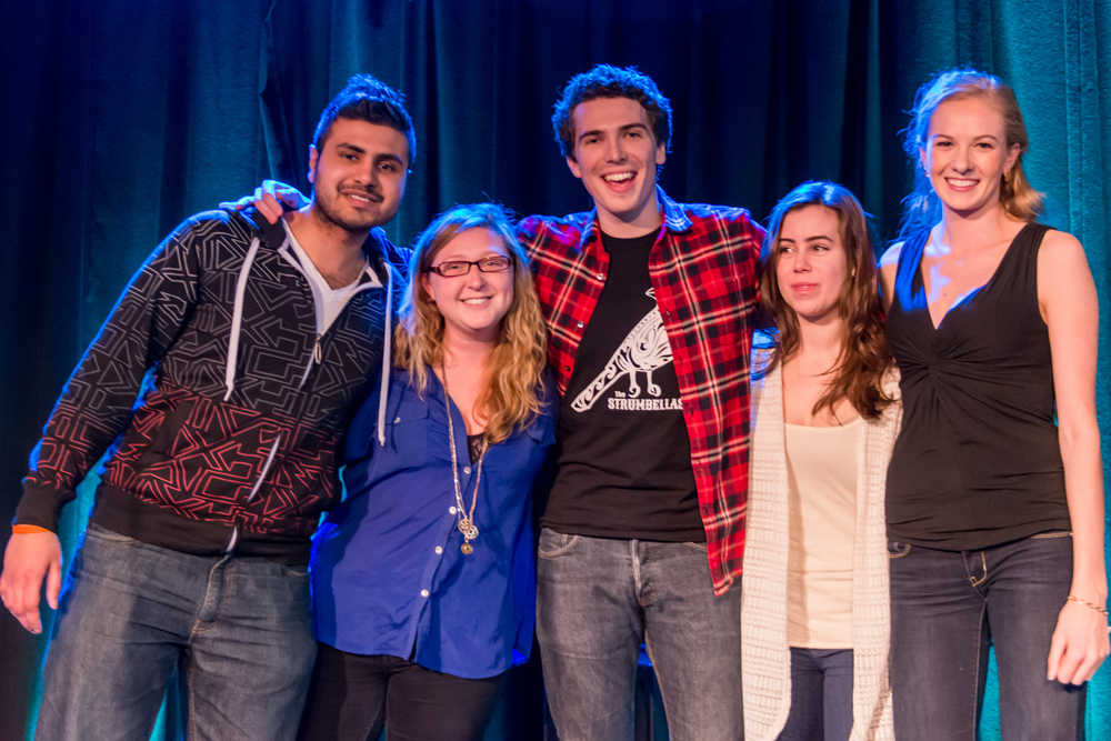 The 2014-15 DSU executive. (Photo by Amin Helal)