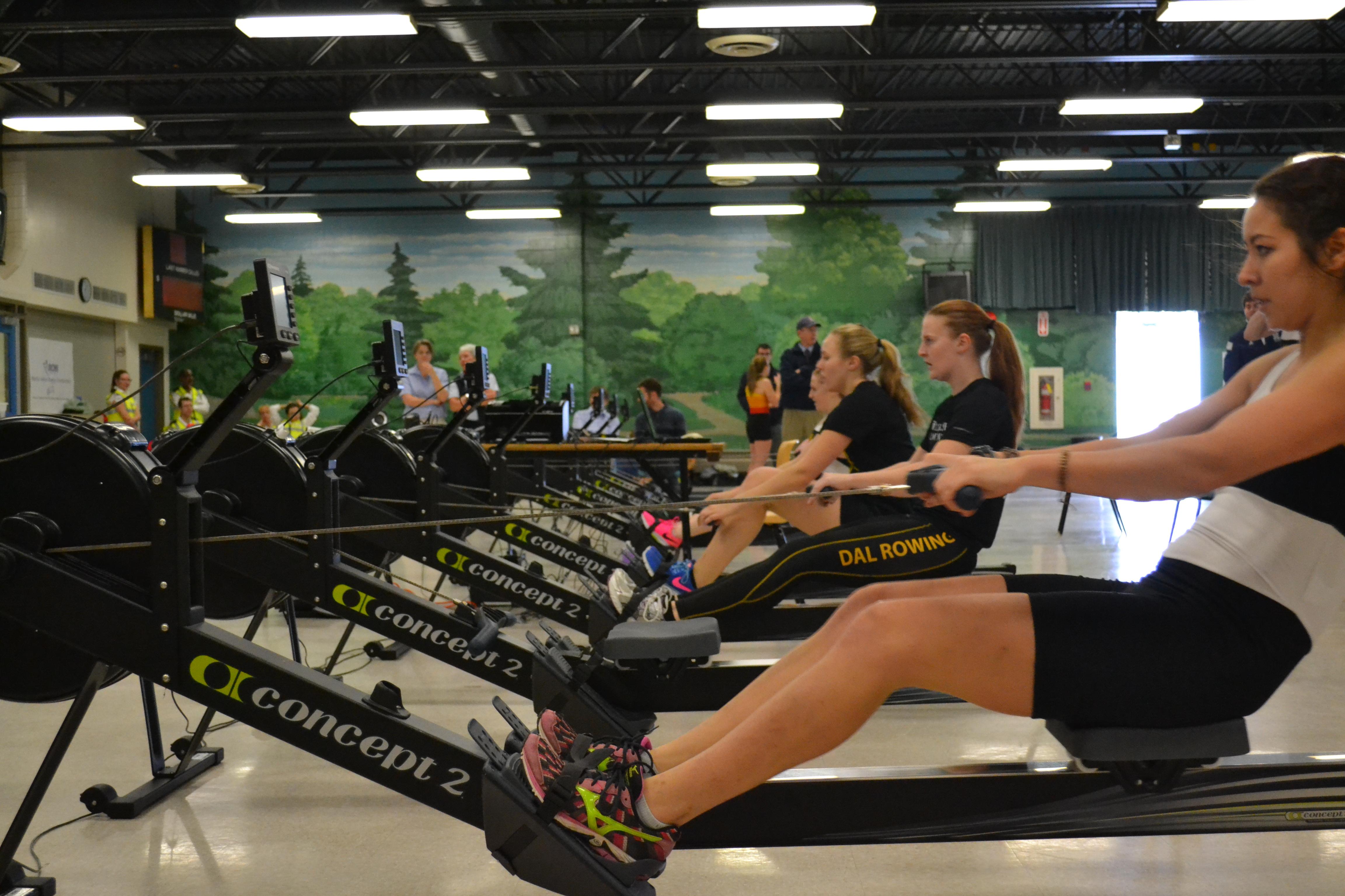 Dalhousie Rowing Club Showcases Talent At Atlantic Indoor