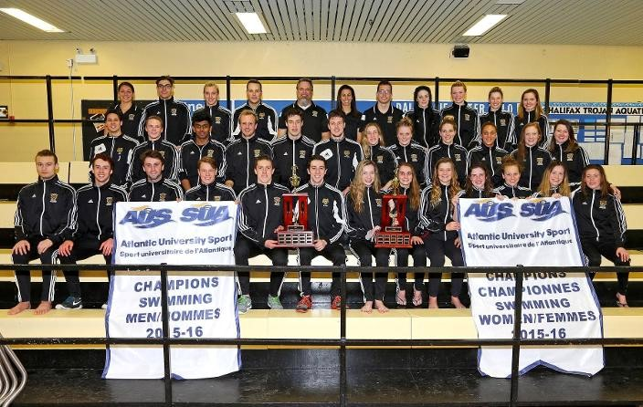 Tigers swimmers are double AUS Champions…again