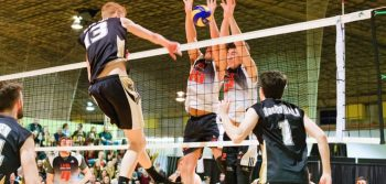 Men's Vball: Tigers fall 3-1 to Varsity Reds in AUS final