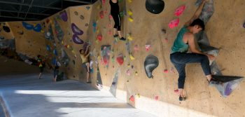 Bouldering is on the rise