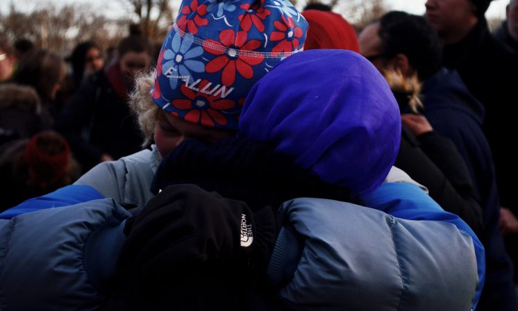 Dalhousie students show solidarity for Muslim community