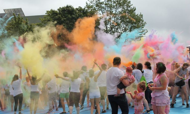 Halifax Colour Festival celebrates on campus for third time