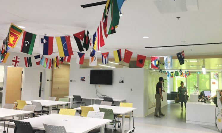Exploring the international centre