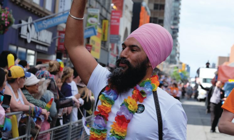 How do the NDP's policies affect students under new leader Jagmeet Singh?