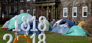 Divest Dal camps on quad