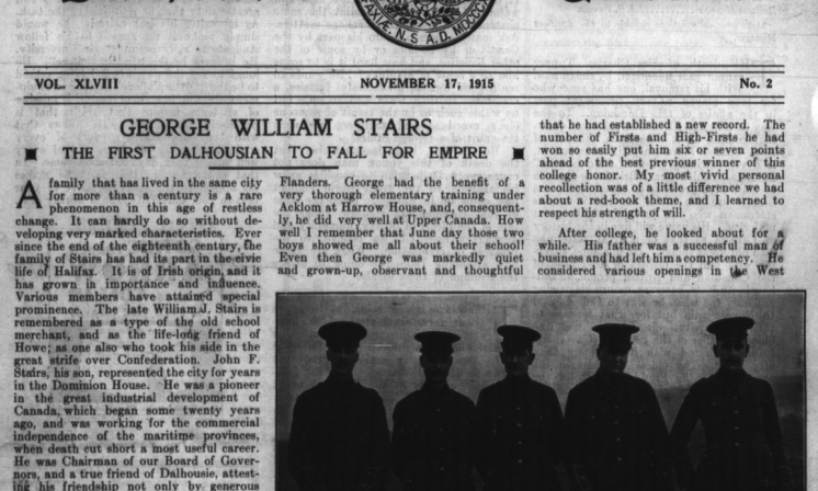 Honour, sacrifice, and duty: Student life during WW1