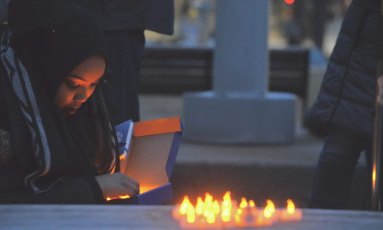 Dalhousie holds memorial for victims of Quebec City mosque massacre