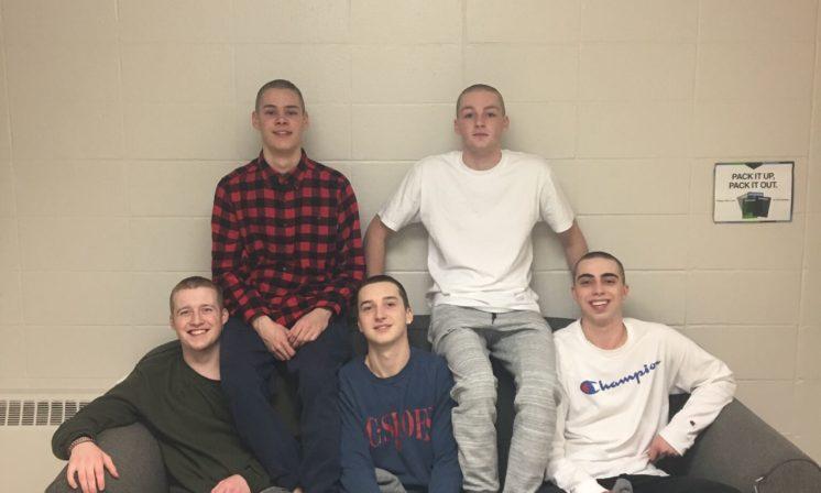 Good people doing good things: A bald brotherhood in Howe Hall