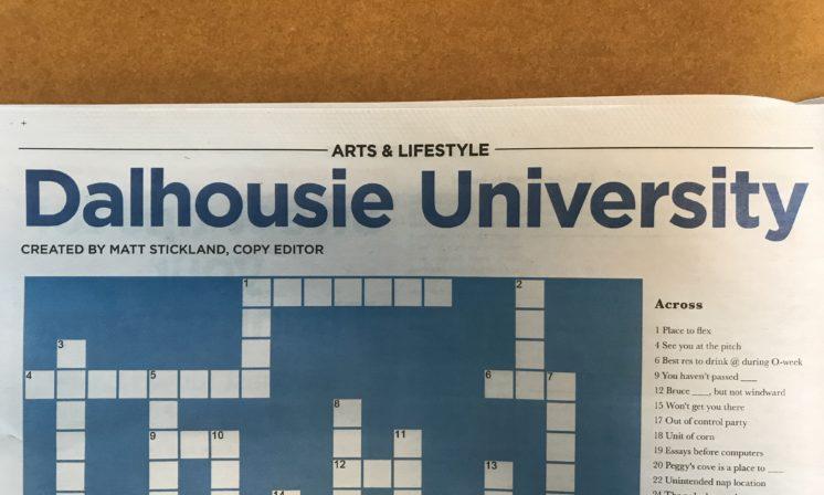 CROSSWORD: Dalhousie University