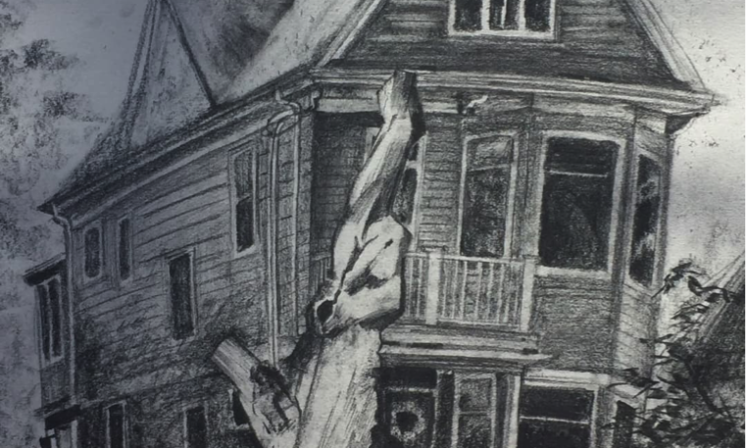 Drawing of house ignites search for artist