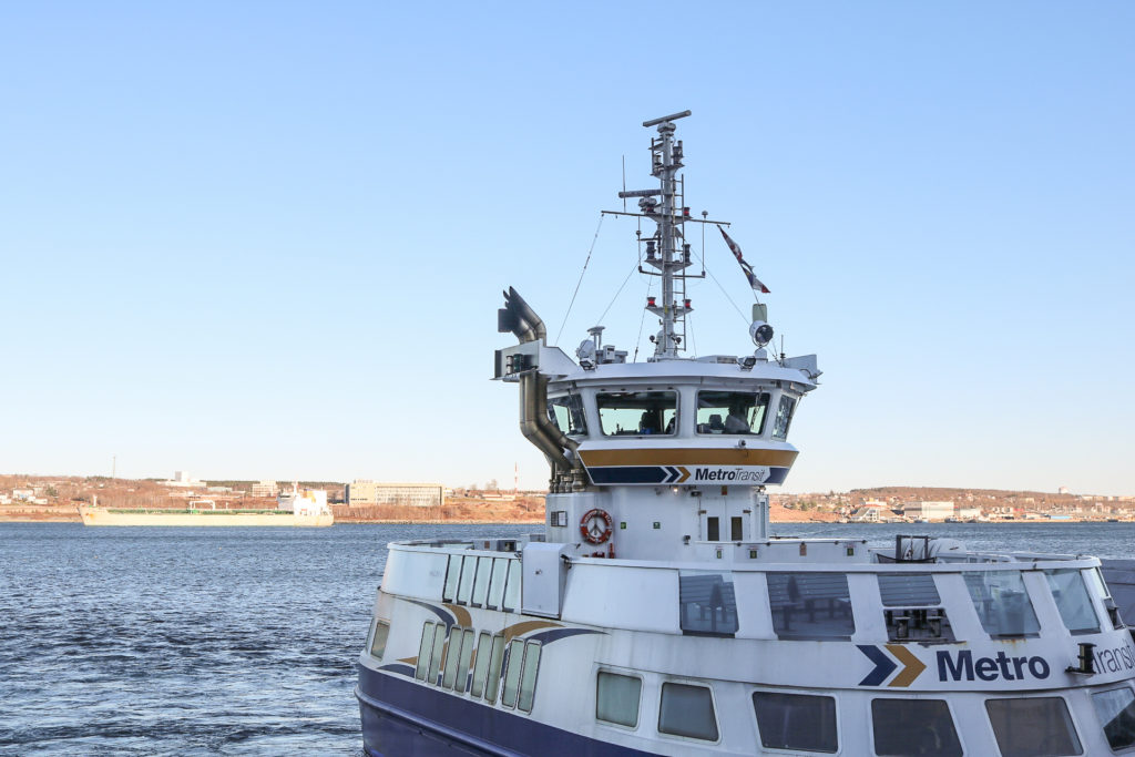 In this image: Halifax Transit ferry.