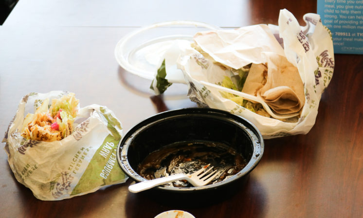 Dalhousie Cafeteria producing large amount of food waste